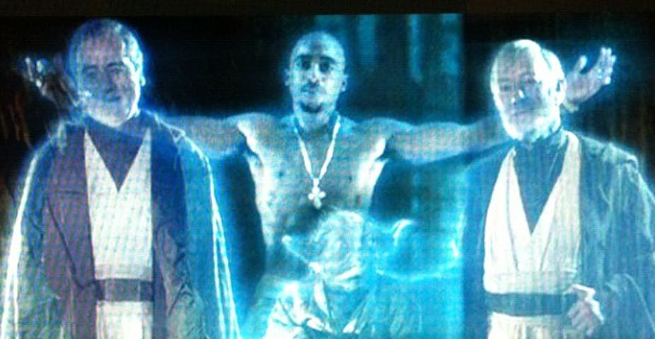 Tupac's rise from the dead was, sadly, not holography